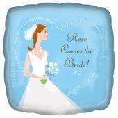 Fóliový balónek Here Comes the Bride