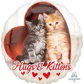 Fóliový balónek Hugs & Kittens