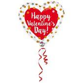 Fóliový balónek HVD Gold & Silver Dots