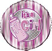 Fóliový balónek It's a girl