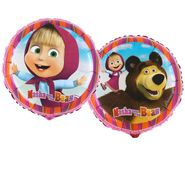Fóliový balónek Máša a medvěd