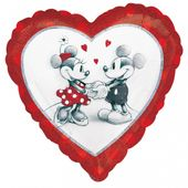 Fóliový balónek Mickey & Minnie Love