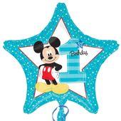 Fóliový balónek Mickey 1 hvězda