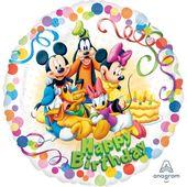 Fóliový balónek Mickey party