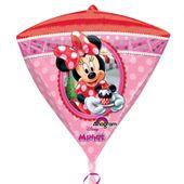 Fóliový balónek diamant Minnie