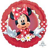 Fóliový balónek Minnie red