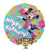 Zpívajíci fóliový balónek Minnie