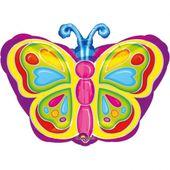 Fóliový balónek Motýl