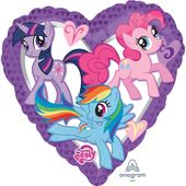 Fóliový balónek My little Pony Heart