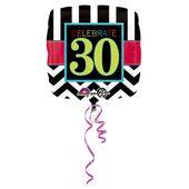 "Fóliový balónek narozeniny  ""30"""