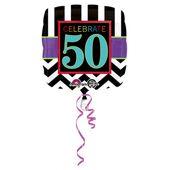 "Fóliový balónek narozeniny  ""50"""