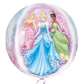 Fóliový balónek orbz Disney Princezny
