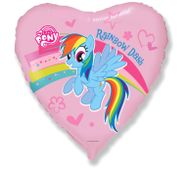 Fóliový balónek Rainbow Dash