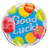 """Fóliový balónek s nápisem """"Good Luck"""""""