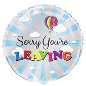Fóliový balónek Sorry You're leaving