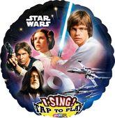Zpívajíci fóliový balónek Star Wars