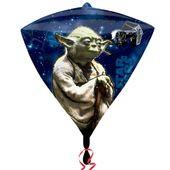 Fóliový balónek diamant Star Wars Yoda
