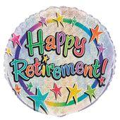 Fóliový balónek Šťastný odchod do důchodu