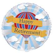 """Fóliový balónek Šťastný odchod do důchodu """"Hot Air"""""""