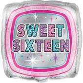 Fóliový balónek Sweet sixteen