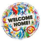 "Fóliový balónek ""Welcome Home"""