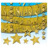 Sada dekorace zlatá