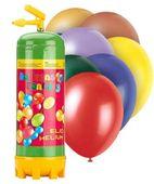 Héliová láhev 28 + balónky