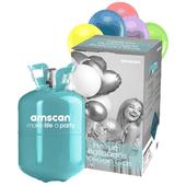Heliová láhev 30 + balónky