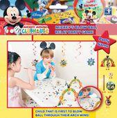 Hra Mickey překážková dráha