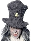 Hrobnický klobouk šedý