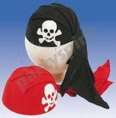 Karnevalová Čapka Pirát červená