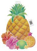 Kartonová dekorace ananas