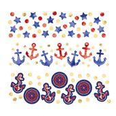 Konfety Námořnicka párty