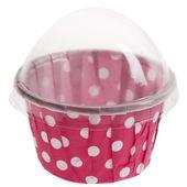 Košíky na cupcakes růžové