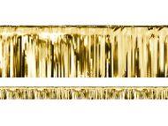 Krátká párty opona zlatá