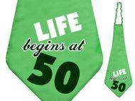 Kravata 50. narozeniny
