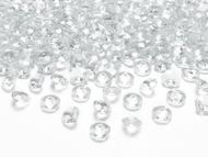 Krystalové diamanty bezbarvé