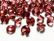 Krystalové diamanty červené