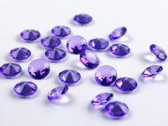 Krystalové diamanty purpurové