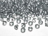 Krystalové diamanty stříbrné