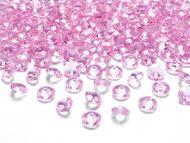 Krystalové diamanty světlerůžové