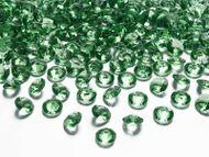 Krystalové diamanty zelené