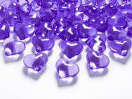 Krystalové srdce purpurové