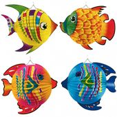 Lampion barevná ryba