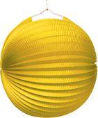Lampion jednobarevný žlutý