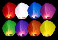 Lampion štestí multicolor 1ks