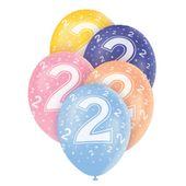 """Latexové balónky """"2"""""""