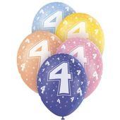 """Latexové balónky """"4"""""""