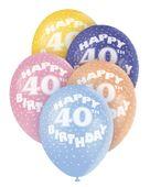 """Latexové balónky """"40"""""""