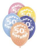 """Latexové balónky """"50"""""""